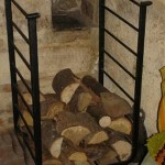 Fireplace Log Holder