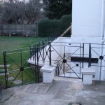 Railings for Regency town house
