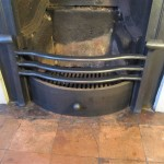 Replacement firegrate detail