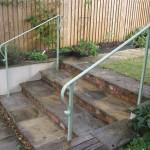 Green Handrails