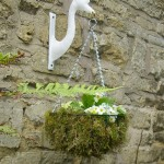 Swan Head Bracket For Hanging Basket